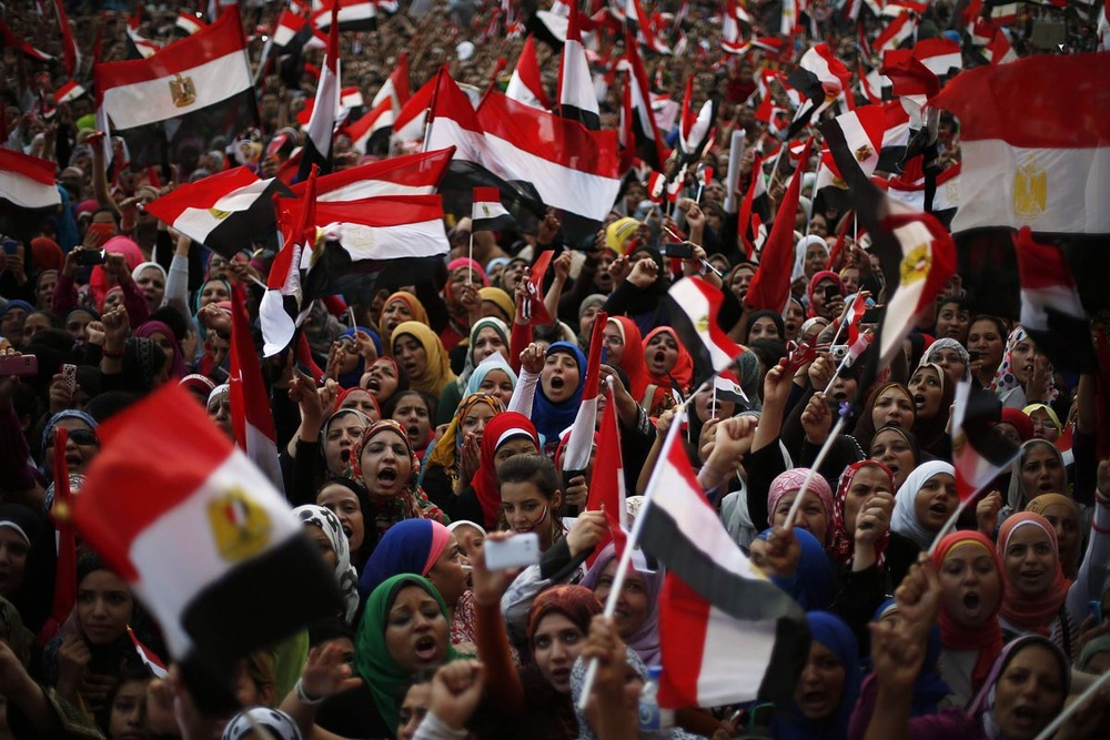 Protestors in Egypt, July 1, 2013. Photo by  Suhaib Salem, Reuters.
