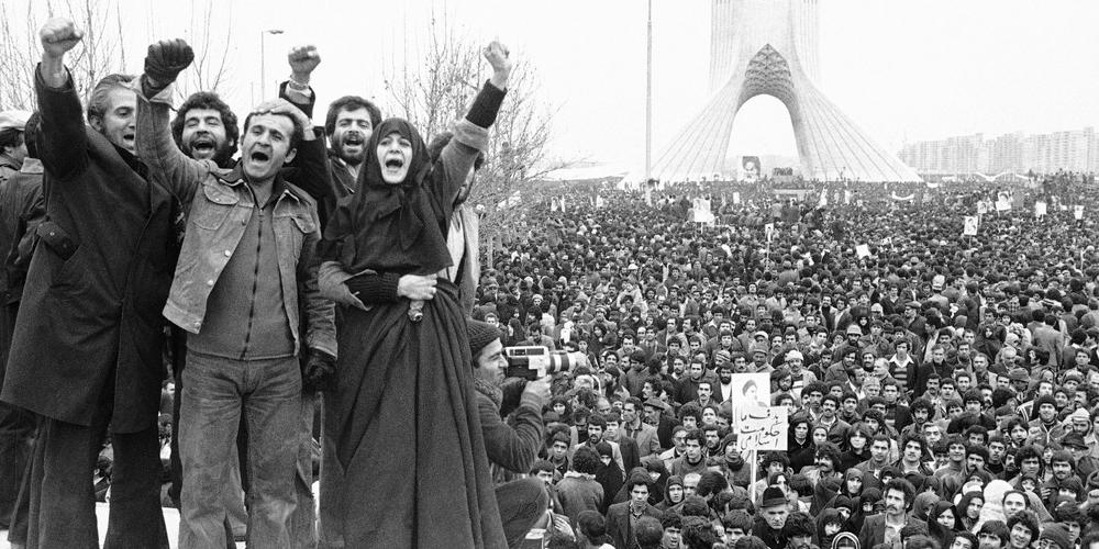 Shahyad Square, Tehran, Iran, 1979