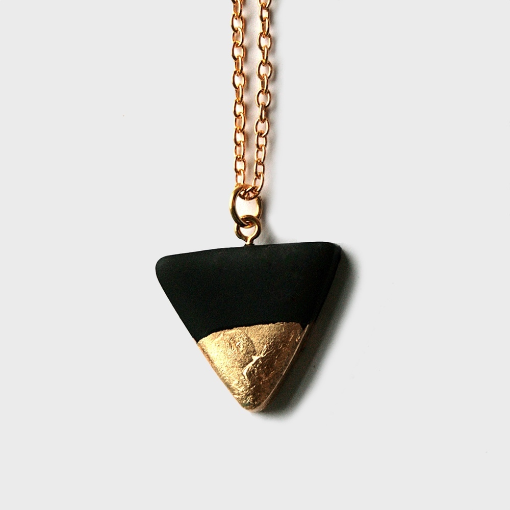 aradia small triangle necklace gold leaf.jpg