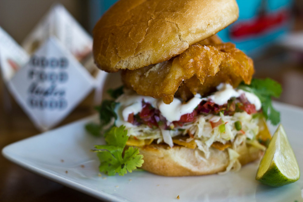 Restaurants - Again, No matter what I put here, someone will complain about leaving places out.  So I will leave it up to MPLS/St. Paul Magazine to help you find something you might be into. (Pictured - Tilia's Fish Taco Torta) MPLS/St. Paul Magazine Best Restaurants