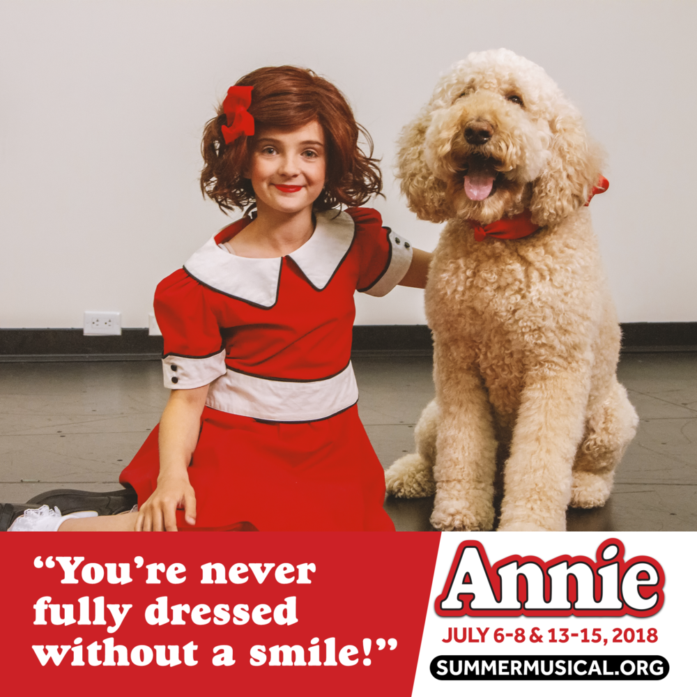 Annie The Musical FB frame