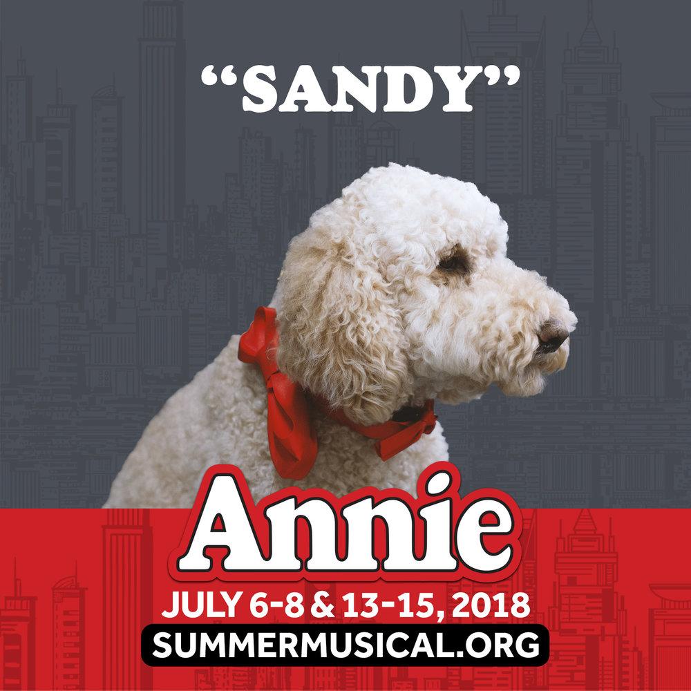 Sandy form the musical Annie