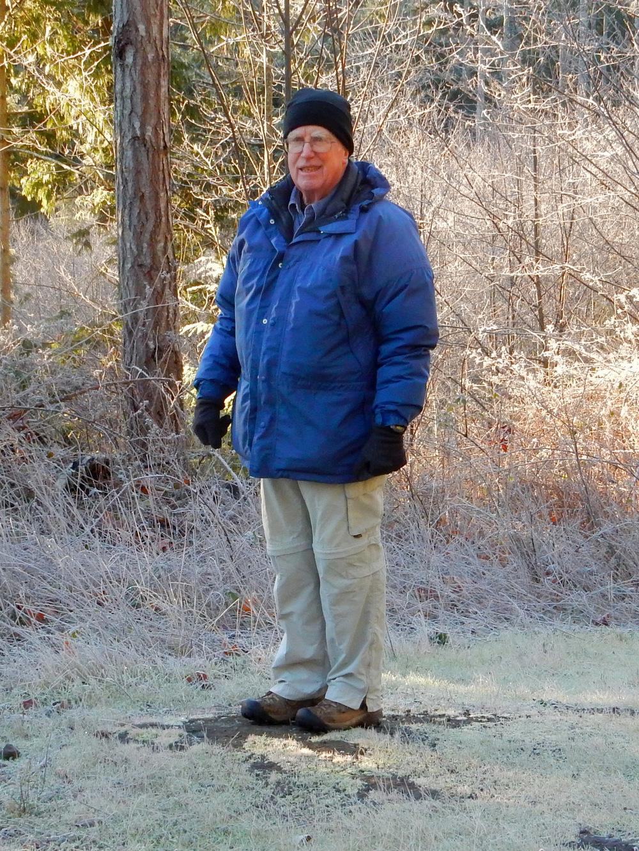 Our hike leader Dan