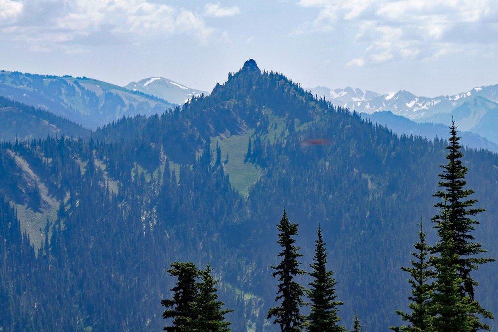 The lone peak