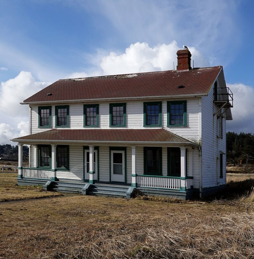 Point Wilson Lighthouse keeper's home