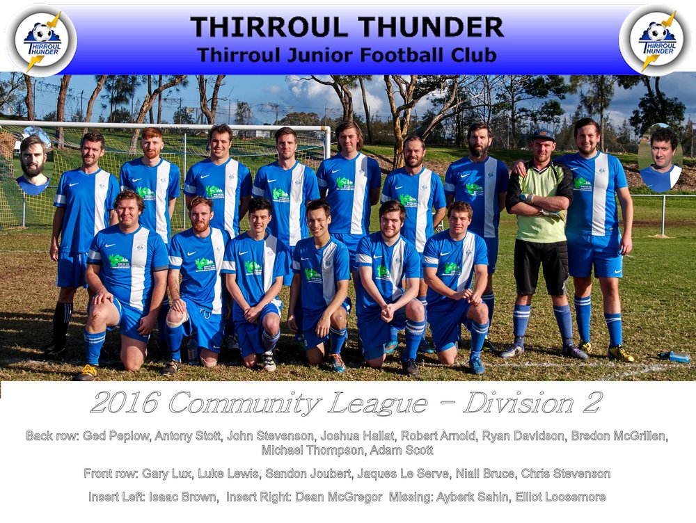 Thunder Division 2 Grand Finalists