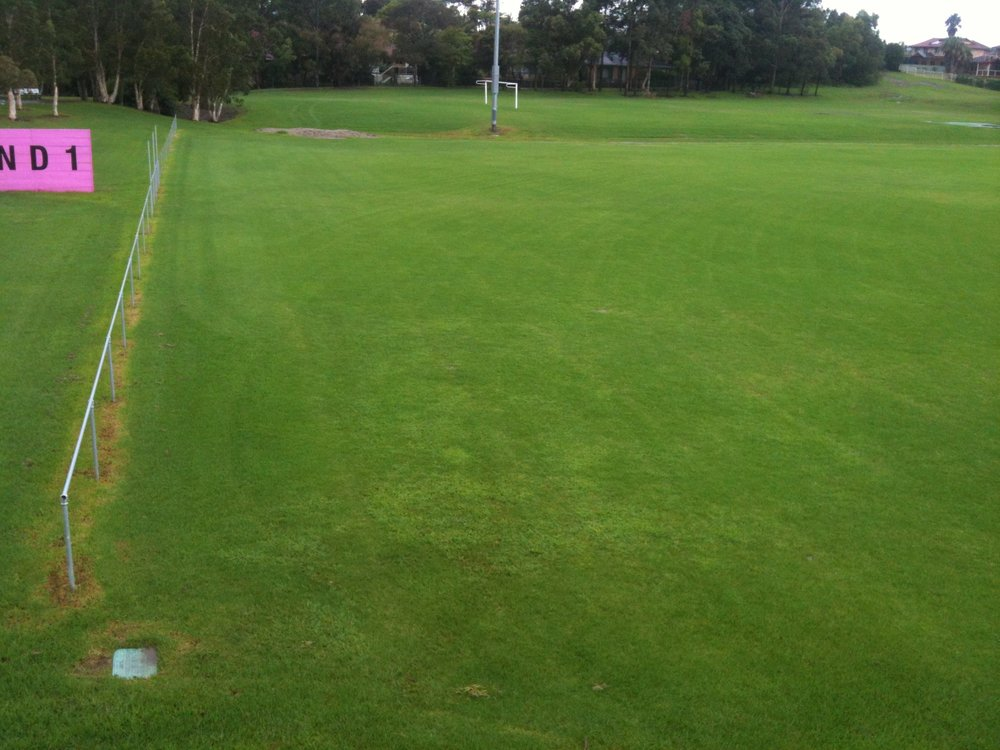 Northern end of Ground 1