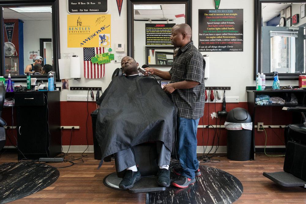 Sule's Hair Salon, Waltham