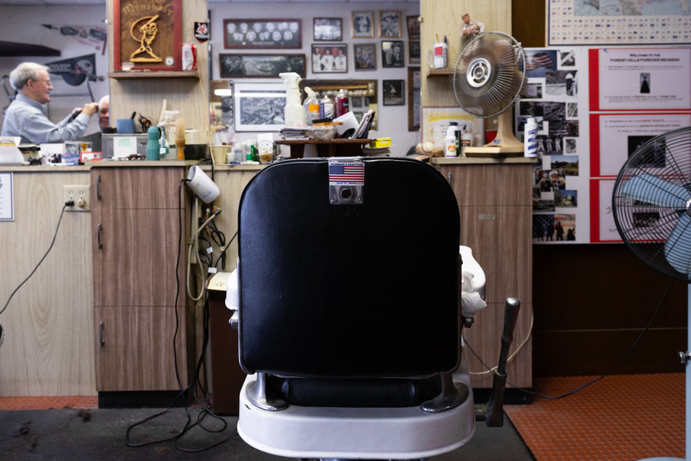 Local 12, Monahan's Barber Shop, Jamaica Plain, MA