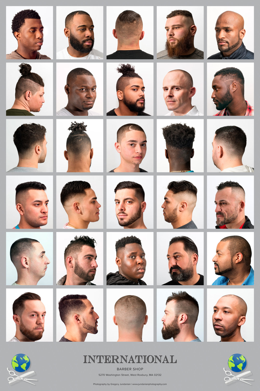 International Barbershop, West Roxbury, MA