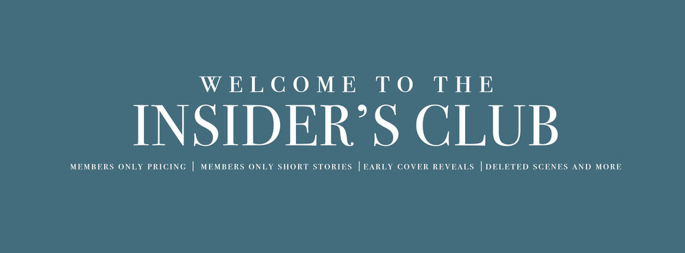Join the  Insiders Club  for free exclusive content!!