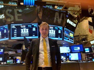 At the NYSE