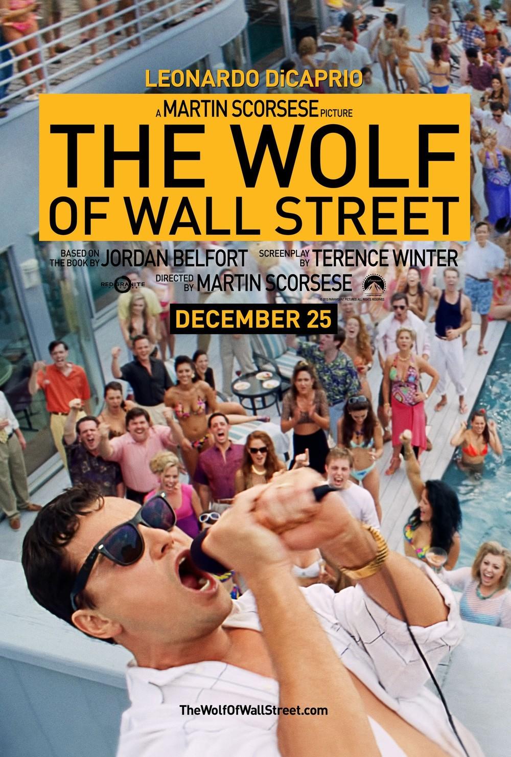 "Appearance in ""The Wolf of Wall Street Poster"""