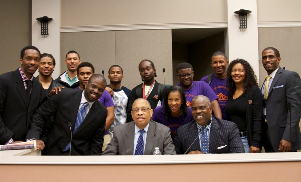 Professor Mark T. Harris, Esq.; The Honorable Mayor Elihu M. Harris, Esq.; Eric M. Harris J.D.; Chet McGensy, Esq.; Asa Jackson; Martin T. Harris; East Oakland Youth Development Center