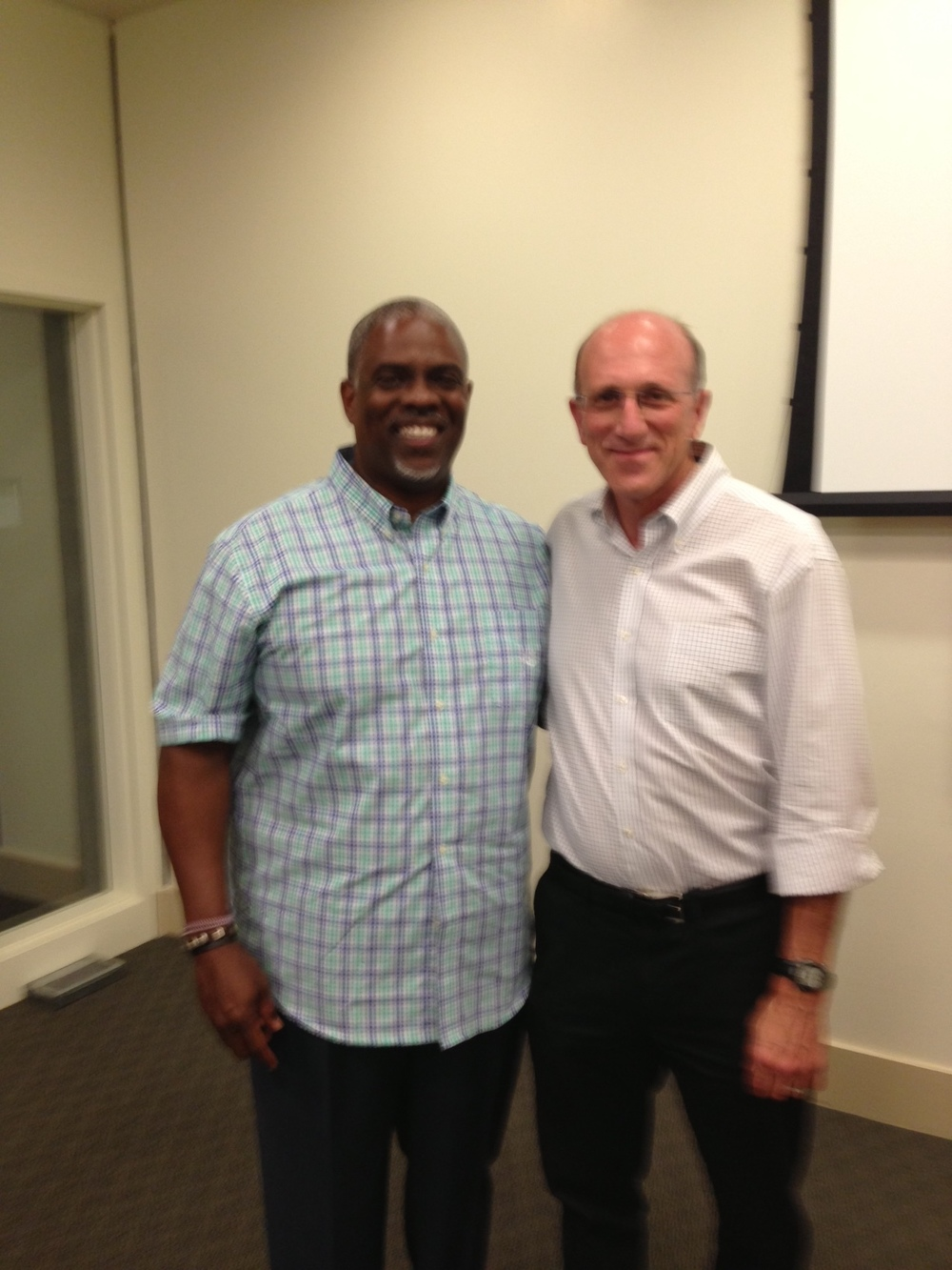 Professor Mark T. Harris, Esq. with Councilman Jay Schenirer of Sacramento