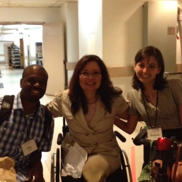 Eric M. Harris, J.D. and Brianna Gross with The Honorable Congresswoman Ladda Tammy Duckworth