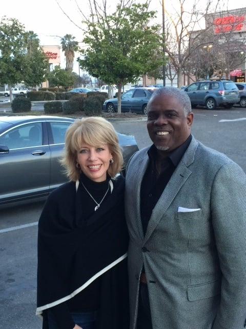 Professor Mark T. Harris, Esq. with the Honorable Mayor Ashley Swearengin