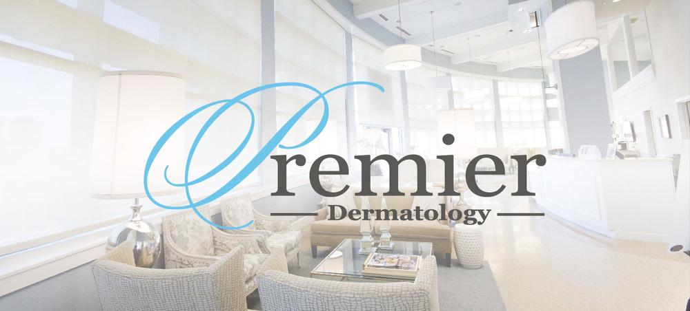 Premier Dermatology design heading