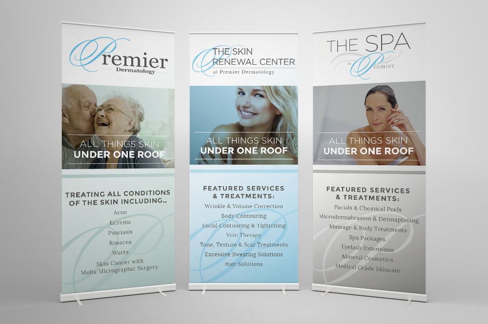 Premier Dermatology banner design