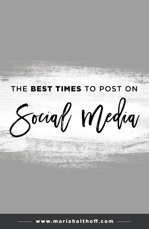Are you posting at the best times for each social media platform? Find out peak hours for Facebook, Twitter, Instagram, Pinterest and LinkedIn with this kickin' infographic.