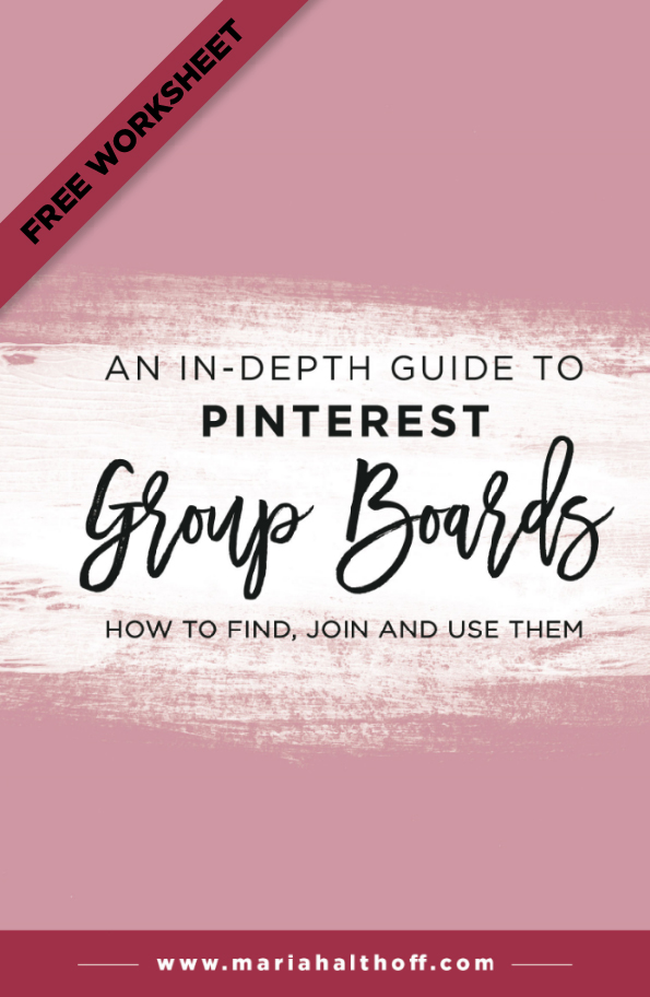 We all know Pinterest group boards can be super helpful in growing your Pinterest audience and for increasing the likelihood of your pins going viral. I struggled for months trying to figure out how to find group boards, how to join group boards and how to use group boards. BUT, I have finally cracked the code and laid it all out for you in this post!