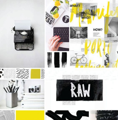 Mood Board for Design Inspiration