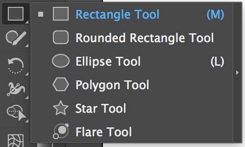 Adobe Illustrator Tools – Rectangle Tool, Ellipse Tool, Polygon Tool, Star Tool