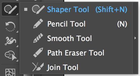 Adobe Illustrator Tools – Shaper Tool