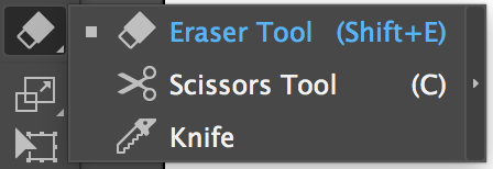 Adobe Illustrator Tools – Eraser Tool