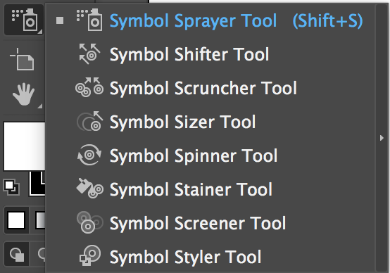 Adobe Illustrator Tools – Symbol Sprayer Tools