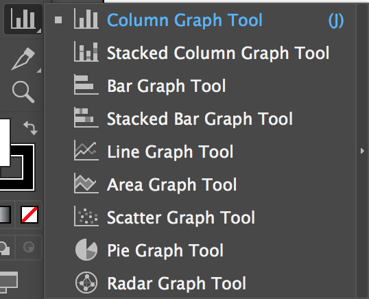 Adobe Illustrator Tools – Graph Tools