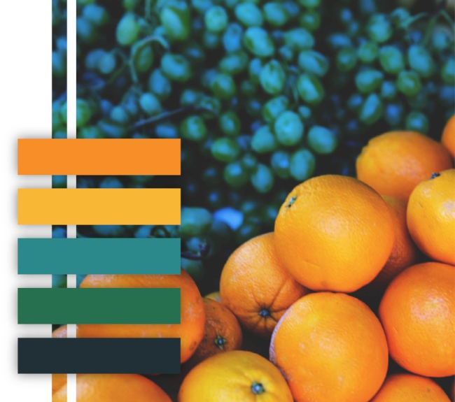 10 Food Themed Color Palettes for your Branding Inspiration ...