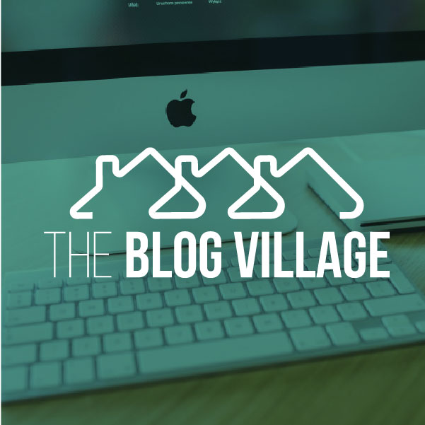 The Blog Village<strong>Logo and Brand Design</strong>