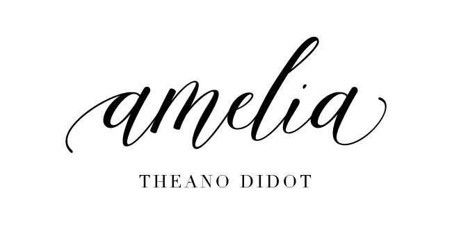Amelia Calligraphy Font Pairing