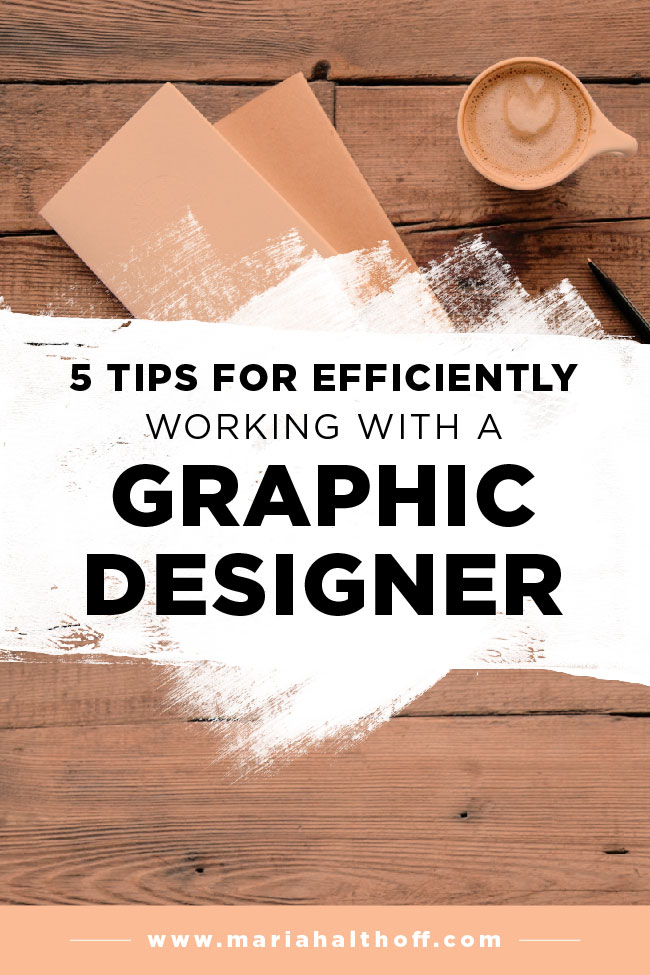 If you've ever considered working with a graphic designer, this post is for you! Learn how to easily work with graphic designers to eliminate any confusion, streamline the design process and utilize your designer to their best ability.