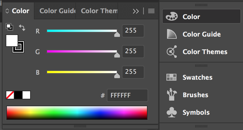 Color Panel – Illustrator Tools