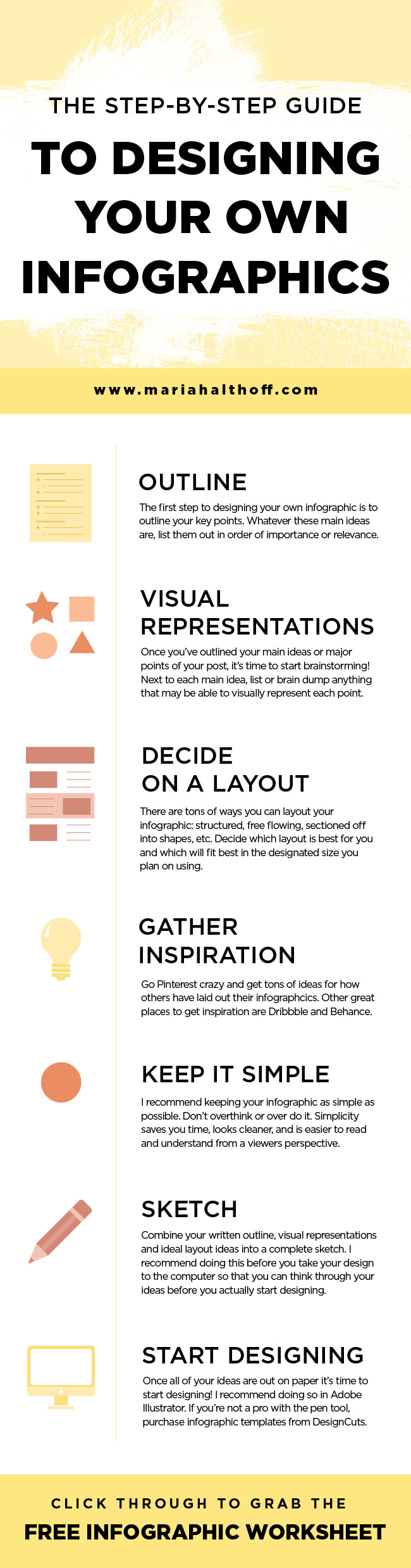 Infographics perform WAY better on social media than any other graphics I've created or promoted. Here's how you can make your own infographics to gain more traffic for your blog or business!