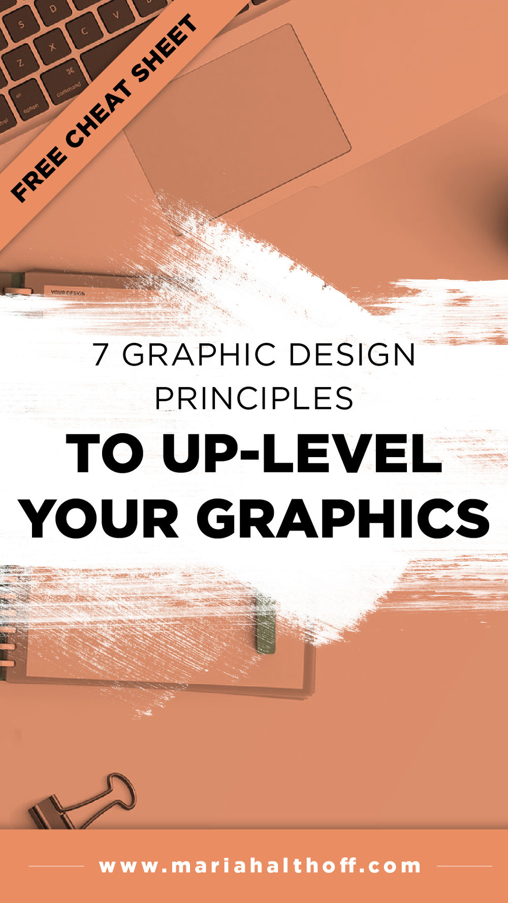 Use these seven design principles to up-level your graphics and stand out from your competition by learning to design like a professional.