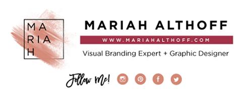 Email signature designed in Adobe Illustrator