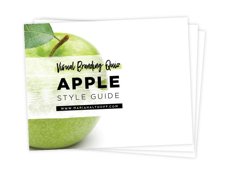 Apple Branding Style Guide