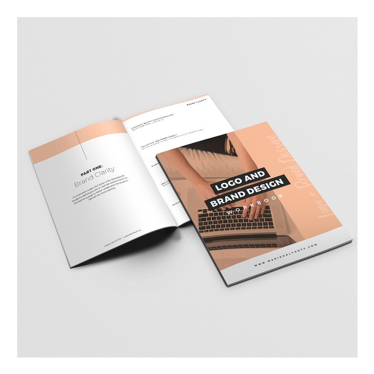 Logo And Brand Design Workbook Mariah Althoff Graphic Design Freelancing Tips