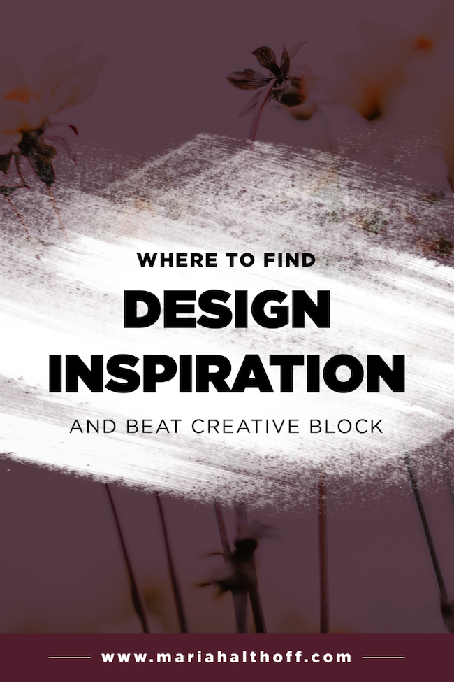how to find design inspiration