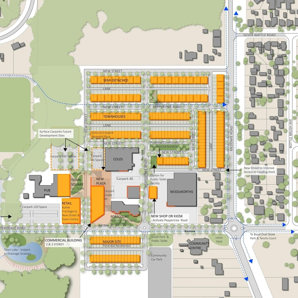 Medowie Town Centre Master Plan