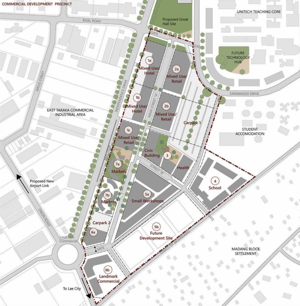 Unitech Commercial Precinct Plan