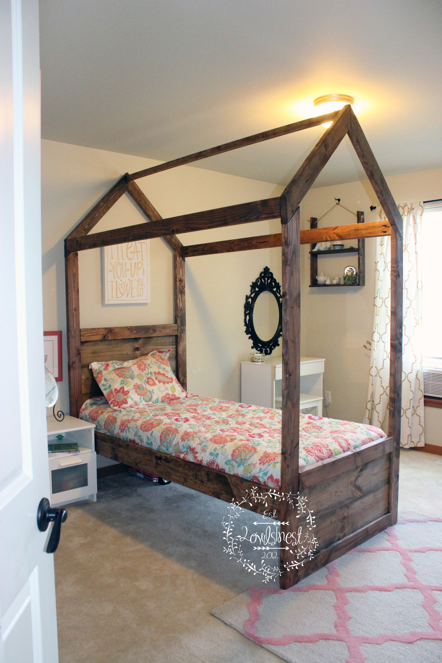 the latest 78862 84cc6 Twin house bed — 2owls1nest