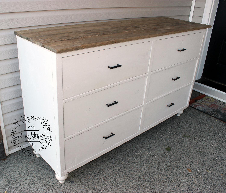 6 drawer farmhouse dresser — 2owls1nest