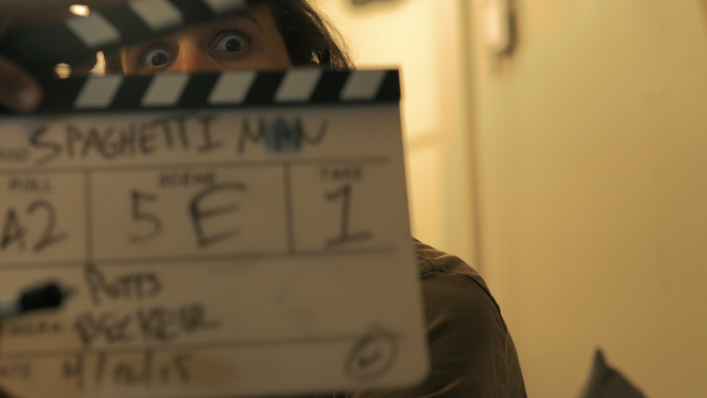 A real slate means a real movie, sorry, film.