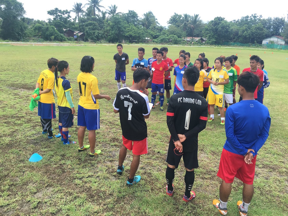 Football United Myanmar Coach Education