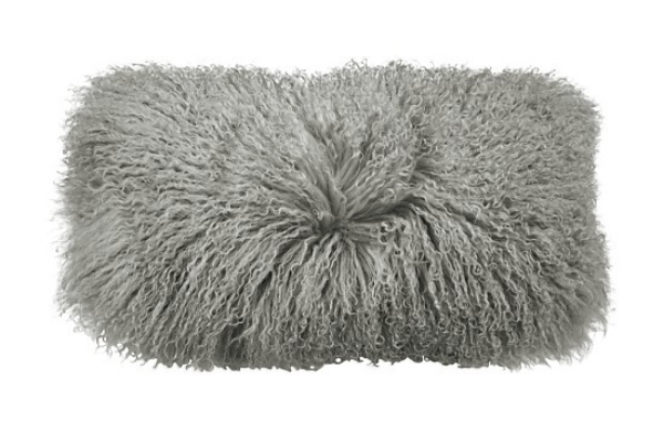 Furry,  Flokati Pillows  for Beds and Bedroom Chair