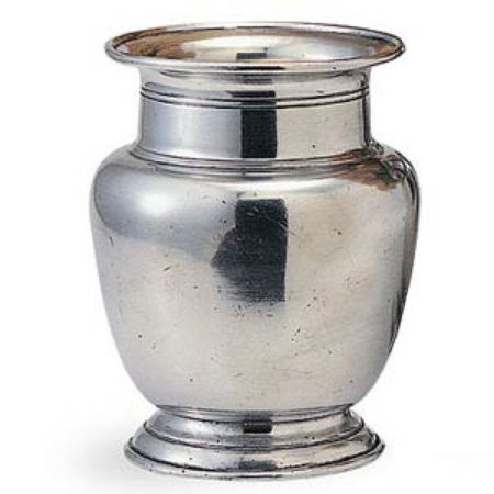 Large,  Pewter Vase  for Branches-much more wintery than glass!